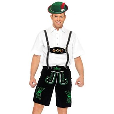 Oktoberfest / Bavarian Cosplay Costume / Party Costume Men's Halloween / Carnival / Oktoberfest Festival / Holiday Halloween Costumes