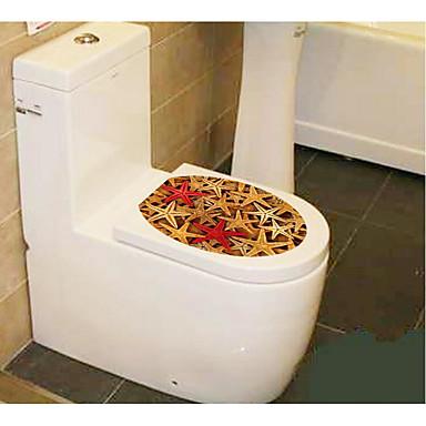 1pc creatieve persoonlijkheid woninginrichting het toilet stickers