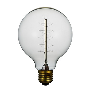 E27 40W G80 Around The Wire American Restaurant Ball Edison Retro Decorative Light Bulbs