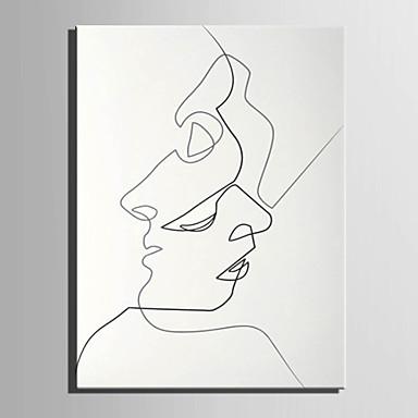 Menschen Europäischer Stil, Ein Panel Segeltuch Vertikal Druck Wand Dekoration Haus Dekoration