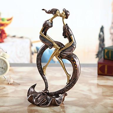 1pc polyresin Fritid Retro Rød Moderne / NutidigforHjemmedekorasjon, Dekorative gjenstander Gaver