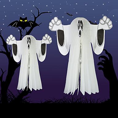 fantasmas do dia das bruxas esqueleto pendurar decoração para bar do clube das bruxas crânio partido home pano pendant deco halloween prop
