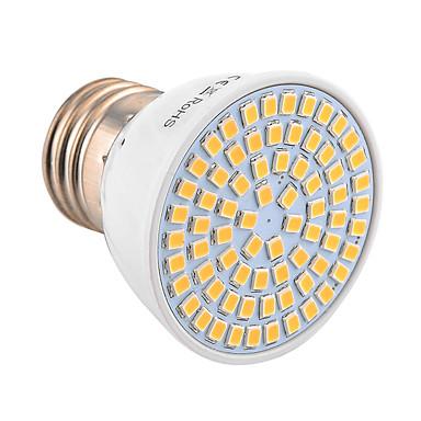 YWXLIGHT® 600-700 lm E26/E27 LED-spotlys MR16 72 leds SMD 2835 Dekorativ Varm hvid Kold hvid 30-09-16
