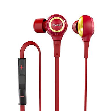 EP915 In het oor Bekabeld Hoofdtelefoons Dynamisch Muovi Mobiele telefoon koptelefoon Geluidsisolerende met microfoon Met volumeregeling