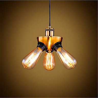 3-luz Lámparas Colgantes Luz Ambiente - Mini Estilo, LED, Los diseñadores, 110-120V / 220-240V Bombilla no incluida / 10-15㎡ / E26 / E27