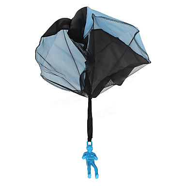 Spielzeug-Fallschirme Spielzeuge Kreisförmig Neuartige Kunststoff Kinder Jungen Mädchen 1 Stücke
