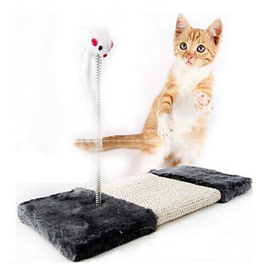 Kattenspeeltje Huisdierspeeltjes Interactief Krabmat Muis Sisal