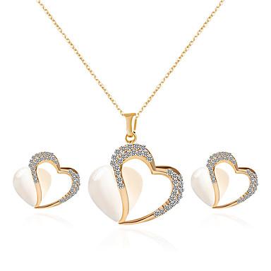 Herrn Damen Paar Schmuckset Halskette / Ohrringe Strass Opal Aleación Personalisiert Quaste Böhmische Sexy Liebe Inspirationen Künstliche