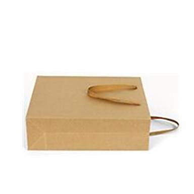 fem 28cm * 10cm * 33cm kraftpapir poser pr pakke
