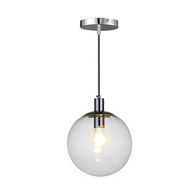 QINGMING® Riipus valot Alavalot Kromi Metalli Lasi Minityyli 110-120V / 220-240V Polttimo ei ole mukana toimitksessa / E26 / E27