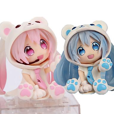 Anime Action-Figuren Inspiriert von Vocaloid Hatsune Miku PVC 7cm CM Modell Spielzeug Puppe Spielzeug