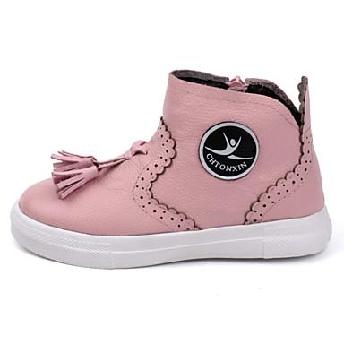 女の子 靴 レザー ブーツ 用途 カジュアル ホワイト ブラック ピンク
