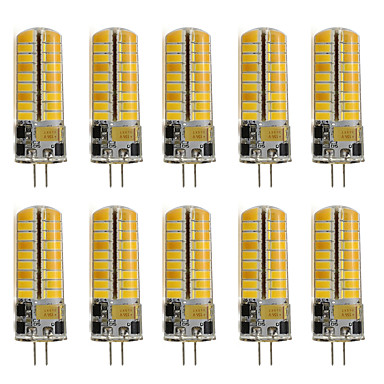 10pcs 260lm G4 Luces LED de Doble Pin T 72 Cuentas LED SMD 2835 Decorativa Blanco Cálido Blanco Fresco 12V 220-240V