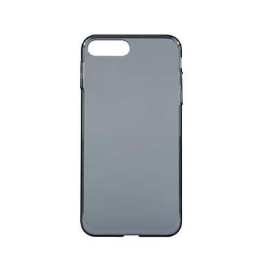 Etui Käyttötarkoitus iPhone 7 Plus iPhone 7 Apple Iskunkestävä Ultraohut Läpinäkyvä Other Suojakuori Yhtenäinen väri Kova PC varten