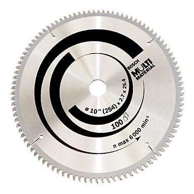 monitoiminen metalliseos sirkkeli terä (10 tuumaa * 100 hampaat (puu- ja alumiini muovi Monikäyttöinen))