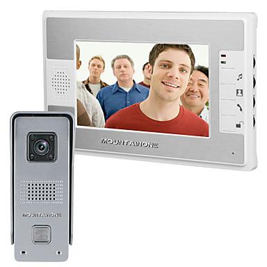 700 TV Line 92 CMOS deurbelsysteem Bedraad Meergezins video deurbel