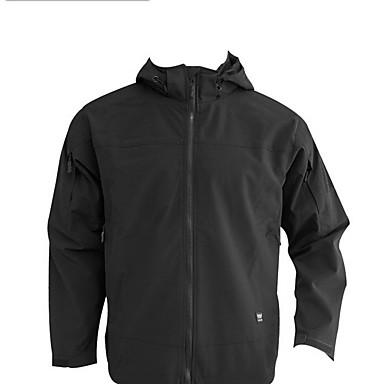 Homens Jaqueta de Trilha Prova-de-Água Térmico/Quente A Prova de Vento Vestível Respirável Jaquetas Softshell Blusas para Acampar e