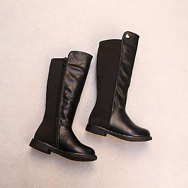 BootsitTyttöjen-PU-Musta-Rento-Comfort