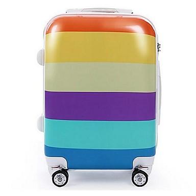 Naisten Matkustamolaukku Muovi Kausaliteetti Ruudun väri