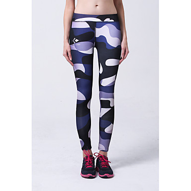Yogabroek Kleding Onderlichaam Ademend Zacht Comfortabel Natuurlijk Rekbaar Sportkleding Fuchsia Blauw Dames Yoga
