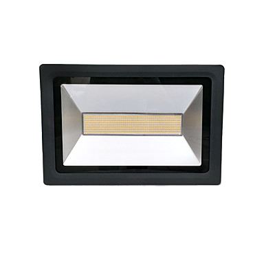 Zdm 200 w 3328x960 pcs 19000lm à prova d 'água ip65 luz ao ar livre ultra fino elenco luz quente branco / branco frio (ac170-265v)