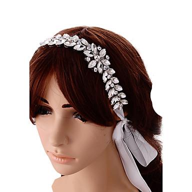 サテンのヘッドバンドヘッドピースの結婚式の優雅な女性のスタイル