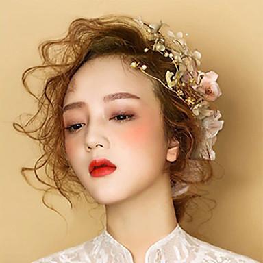 Alloy Barrette Headpiece Wedding Party elegante estilo clássico feminino