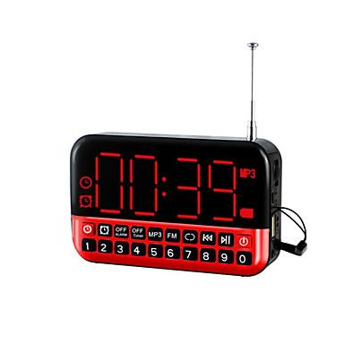 radio reloj llevado portátil multifuncional