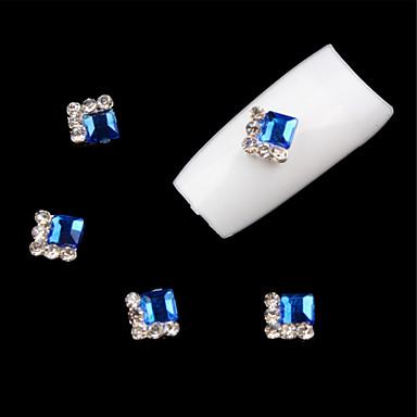 5 pcs Joyas de Uñas arte de uñas Manicura pedicura Diario Glitters / Boda / Moda / Joyería de uñas