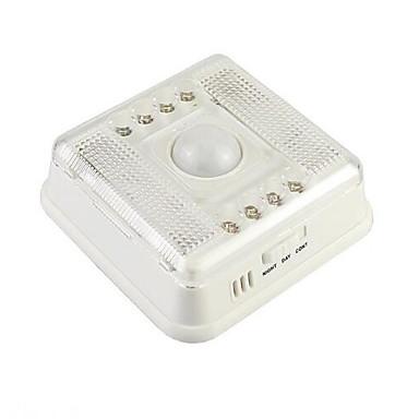 1 kpl LED Night Light Smart Tunnistin Pienikokoiset Kompakti koko LED Moderni/nykyaikainen
