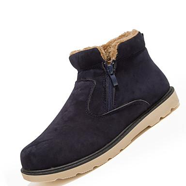 Miehet kengät Tekonahka Kevät Kesä Syksy Talvi Talvisaappaat Muotisaappaat Comfort Bootsit Solmittavat Käyttötarkoitus Kausaliteetti