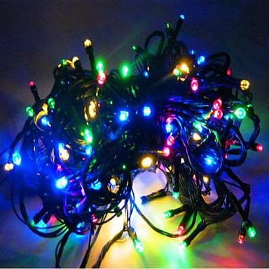 1pc Høy kvalitet Dekorasjon Juletrær Julebelysning Utendørs julekrybber Lysslynger