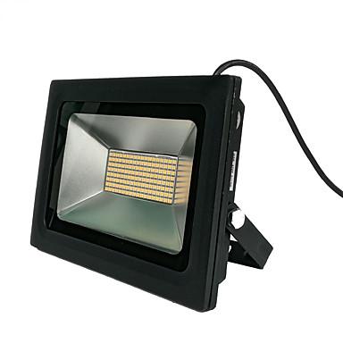 zdm 100w 480pcs 3328smd led 9500lm impermeable ip65 luz de fundición al aire libre caliente blanco / blanco frío (ac170-265v)