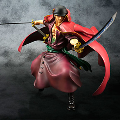 Figuras de Ação Anime Inspirado por One Piece Roronoa Zoro PVC 23cm CM modelo Brinquedos Boneca de Brinquedo