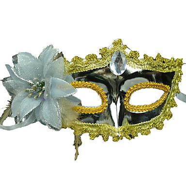 máscara facial terrorista 1pc para o dia das bruxas traje do partido cor aleatória