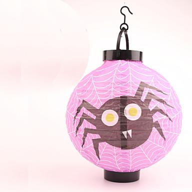 ハロウィーン仮装パーティーのために1個の発光提灯