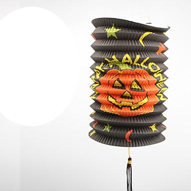 1kpl Teleskooppivarren tylinder lyhdyt halloween puku osapuoli