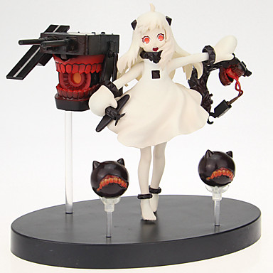 Kantai Collection Cosplay PVC 14cm Anime Action Figurer Modell Leker Doll Toy