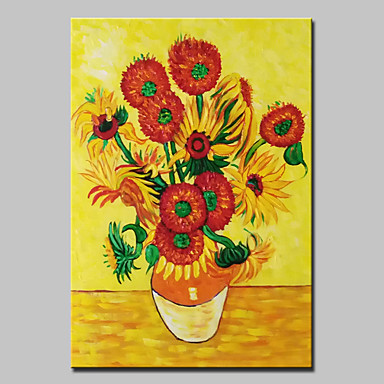 Pintados à mão Famoso Pinturas a óleo,Clássico 1 Painel Tela Hang-painted pintura a óleo For Decoração para casa