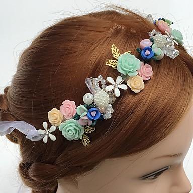 tulle akryyli alloy headbands kukkia headpiece klassinen naisellinen tyyli