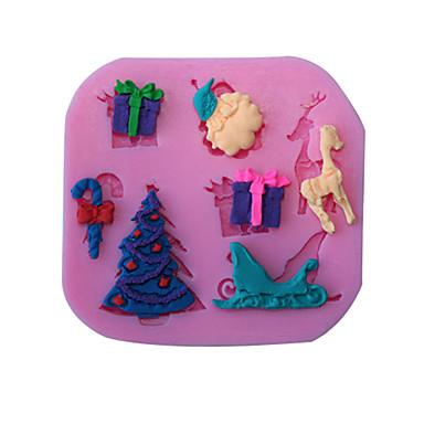 1 Silikon baking Mold for Cake / for Bread / for Cookie / for Cupcake / for Pie / for Pizza / Other / for Ice / for Chocolate Høy kvalitet
