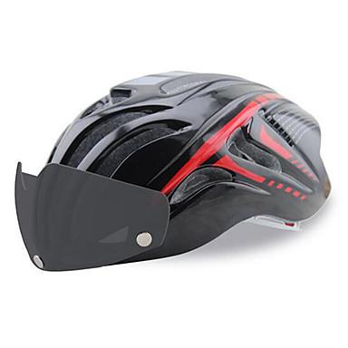 Unisex Pyörä Helmet 18 Halkiot Pyöräily Maastopyöräily Maantiepyöräily Pyöräily Vaellus Yksi koko Tiheätä sadetta hylkivää kangasta