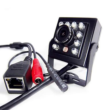 720p mini ir ip kamera fedett rejtett 940nm ir led ip kamera tűcsúcs legkisebb éjjellátó audiokamera
