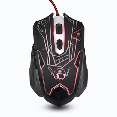 Gaming Mouse USB 800/1200/1600/2400 DPI Estone X6