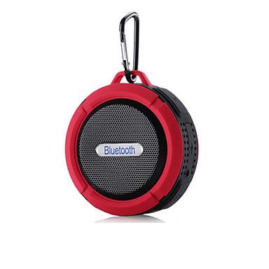 Χαμηλού Κόστους Ηχεία-Για Υπαίθρια Χρήση Αδιάβροχο Μίνι Φορητά Χτισμένα μικρόφωνο Bluetooth 2.1 Ασύρματα ηχεία Bluetooth Μαύρο Πορτοκαλί Κόκκινο Πράσινο Μπλε