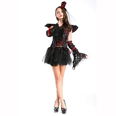 Vampyyri Naiset Halloween Joulu Karnevaali Lasten päivä Uusi vuosi Oktoberfest Festivaali/loma Halloween-asut Yhtenäinen