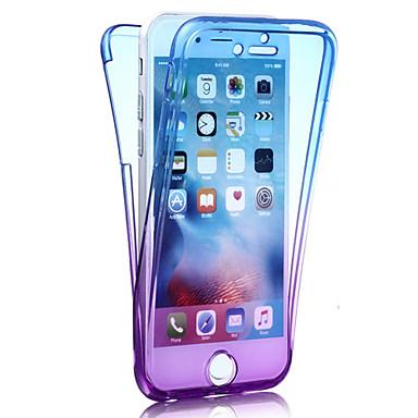 ケース 用途 Apple iPhone 8 iPhone 8 Plus iPhone 6 iPhone 7 Plus iPhone 7 耐衝撃 フルボディーケース カラーグラデーション ソフト TPU のために iPhone 8 Plus iPhone 8 iPhone 7