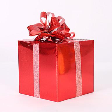 クリスマスの贈り物クリスマスの帽子クリスマスツリーの飾りをofingランダムクリスマスの装飾のギフトの役割を着色