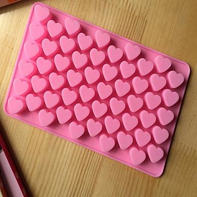 Bakebarer silikon hjerteformet bakeformene for sjokolade cm-87