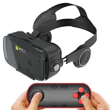 preto headset de realidade virtual fone de ouvido integrado para 4,7-6,2 polegadas smartphone com gamepad remoto Bluetooth